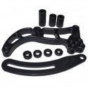 Mopar Low Mount Alternator Bracket, Black