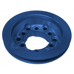 Mopar and Chevy Crankshaft Pulley Billet Aluminum