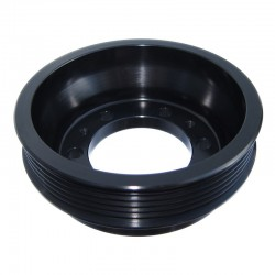 Black Mopar Sepentine Crankshaft Pulley Mopar Dodge Black