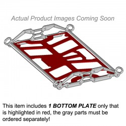Snowmobile Rack - Bottom Plate Only